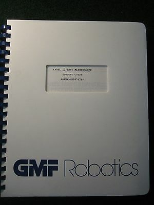 Fanuc KAREL 3 Day Maintenance Student Guide Manual GMF Robotics