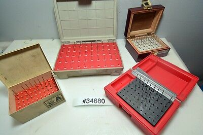 1 Lot of Small Pin Gauge Sets (Inv.34680)