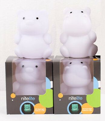 Kushies LED Multi Coloured Night Lights | Auto Shut Off | Cool to the Touch