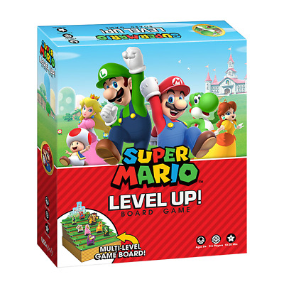 Super Mario Level Up! Board Game - Loot - BRAND NEW