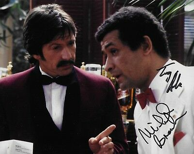 Photo - Michael Brandon & Tony Osoba in person signed autograph - Dempsey
