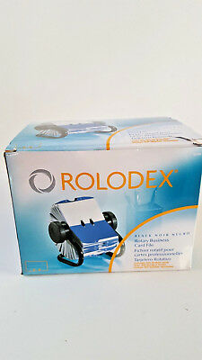 Rolodex Rotary Business Card File New in Box