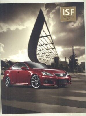 2009 Lexus USA ISF Accessories Brochure wy9028