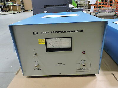 ENI / E&I 3200L RF Power Amplifier 250 kHz-150 MHz, 200W, 55dB - 90 Day Warranty