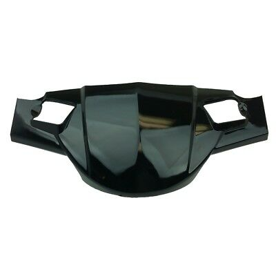 Headlight Cover - BLACK-ABS Body Parts, Jonway Force B Scooter Moped