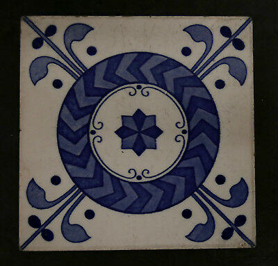 Mintons China Works Antique Tile