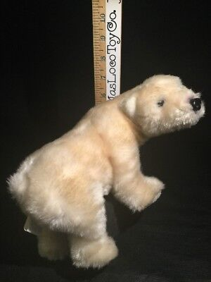 Sea World White Polar Bear Plush Stuffed Animal Small 9in