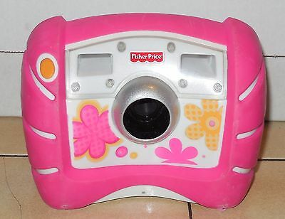 Fisher Price Kid Tough Digital Camera Pink Flowers