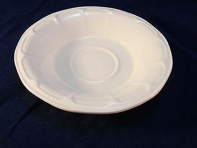 Ford Museum Collection Greenfield Village IROQUOIS Ironstone Saucer WHITE