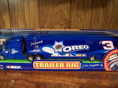 Dale Earnhardt Jr. Transporter  #3 Rig BLUE OREO Nascar Hauler Winners Circle