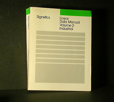Signetics Linear Data Manual Book Volume 2 Industrial 1987