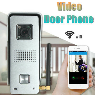 Wireless Wifi Video Doorbell Door Bell Intercom Camera Home Security Monitor