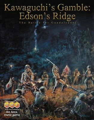 Kawaguchi's Gamble Edson's Ridge, Wargame, New by MMP, English Edition