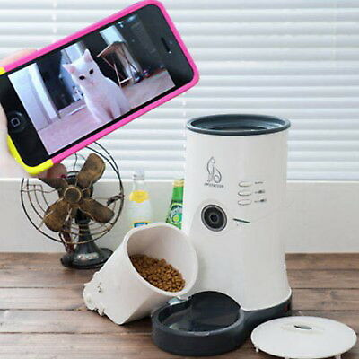 Pet Station Camera Embedded Automatic Smart Pet Feeder For Dogs and Cats(WIFI)