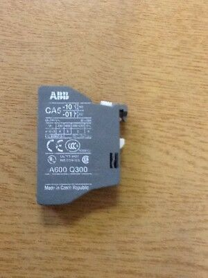 Abb Ca5-10 Normally Open Top Mount Aux. Contact -  Use With Contactors Brand New