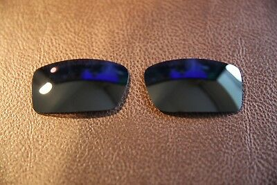 PolarLens POLARIZED Black Replacement Lens for-Oakley Gascan Sunglasses