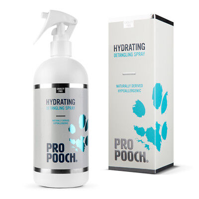 Pro Pooch Dog Detangling Spray (500 ml) Leaves Fur Tangle Free