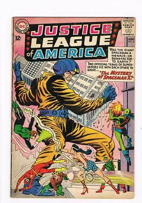 Justice League of America # 20 The Mystery of Spaceman X! grade 4.5 scarce !!