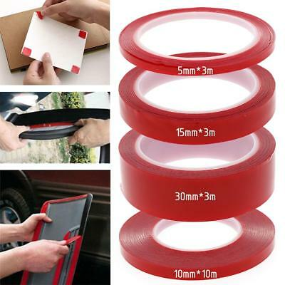 Hot Sale 4Sizes Double-sided Strong Clear Transparent Acrylic Foam Adhesive Tape