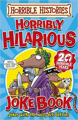Horribly Hilarious Joke Book (Horrible Histories), New, Deary, Terry Book
