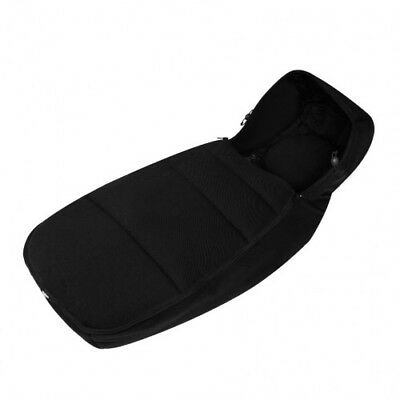 Ickle Bubba Universal Cosytoes – Black - Baby Stroller Buggy Pram Liner Footmuff