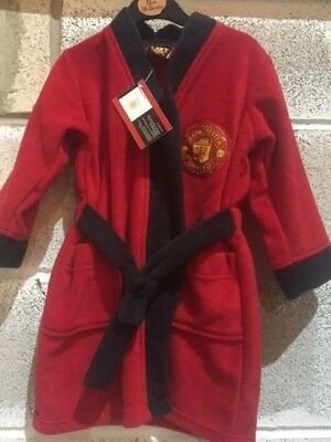 EX STORE OFFICIAL merchandise Manchester United dressing gown ...
