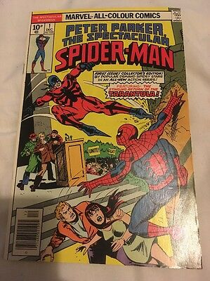 Marvel Comics Peter Parker Spectacular Spider-Man Volume 1 Number 1 1976