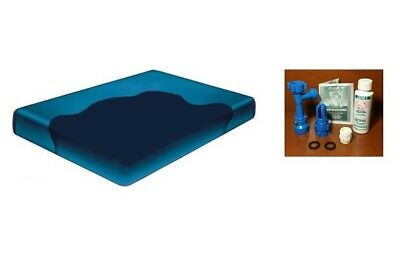 Heater Free flow waterbed Mattress Liner and a Fill and drain Kit FREE SHIP