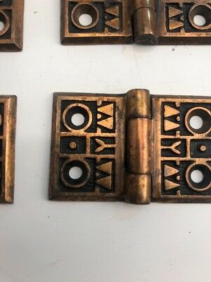 Antique Shutter Hinges Interior Cast Iron Nos 1880's Being Sold As Lot Of 16