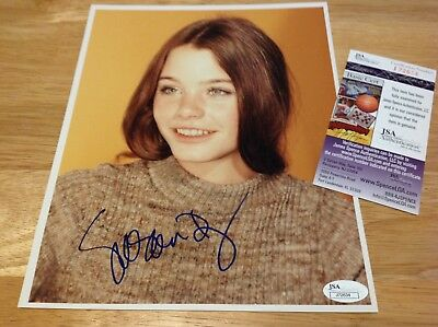 "(SSG) SUSAN DEY Signed 8X10 ""Partridge Family"" Photo - JSA (James Spence) COA"