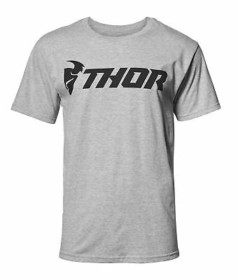 THOR MX Motocross Mens 2018 LOUD Standard Fit T-Shirt (Heather Gray) Choose Size