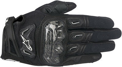 Alpinestars SMX-2 Air Carbon V2 Leather Riding Gloves (Black) Choose Size