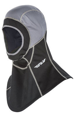 Fly Racing Snow Snowmobile IGNITOR AIR Open Face Balaclava (Black) Choose Size