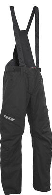 FLY RACING Snow Snowmobile - SNX PRO LITE Pants/Bibs (Black) Choose Size