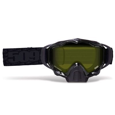 509 Sinister X5 Snow Goggles - WHITEOUT - Polarized Maxvent  Lens - New