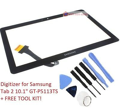 Touch Glass screen Digitizer Replacement for Samsung Galaxy TAB 2 GT-P5113ts New