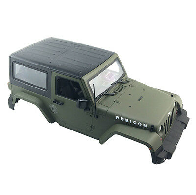 NEW Army Green Jeep Body Shell for 1/10 RC Crawler Axial SCX10 D90 Land Rover