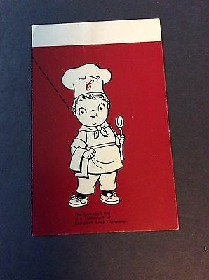 Campbell's Soup Company CAMPBELL KID Trademark Postcard