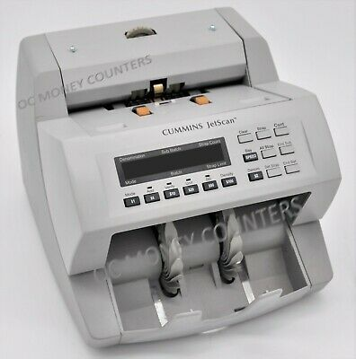 Cummins Jetscan Currency Money Counter Model 4062 **Fully Reconditioned**