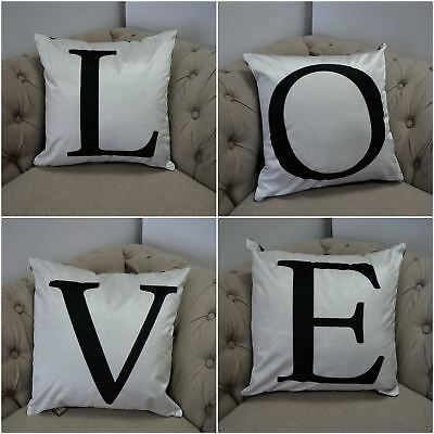 ABC Alphabet Cushion Covers All Letters Available Spell Anything