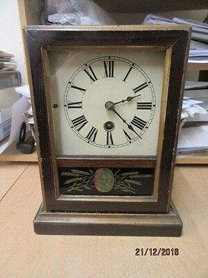 Mantel Clock In Working Order By Jerome & Co
