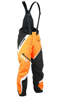 Fly Racing Snow Snowmobile Men's SNX Pants (Orange/Black) Choose Size