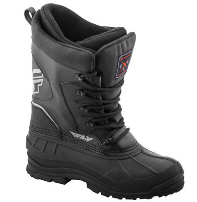 Fly Racing Snow Snowmobile Men's AURORA Boots (Black) Choose Size