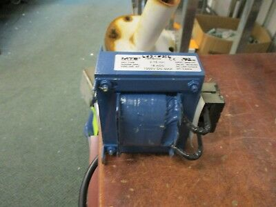 MTE DC Link Choke 18RB004 3.75 mH 18 ADC 1000V DC Dry Type Used