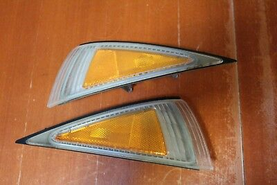 Cavalier 95-99 Set of Right & Left Side Corner Parking Flasher Marker Light Lamp