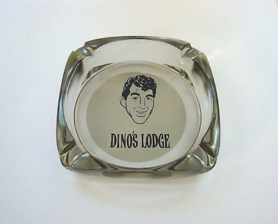 1960's Dino's Lodge Dean Martin Ashtray & Matchbook Sunset BLvd Hollywood CAL