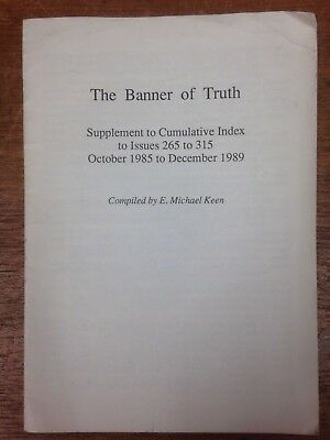 The Banner of Truth magazine, Index for 1985 to 1989