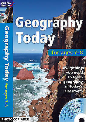 Geography Today 7-8 by Andrew Brodie Book and CD Rom