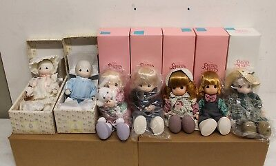 """Lot of 15 Precious Moments Dolls 12"""" and 16"""" (TN00088)"""