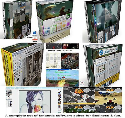 Easter PC computer software bundle office suite games graphic image photo apps